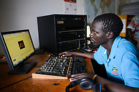 UGANDA, Arua, Radio Pacis, News Room
