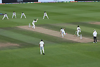 Jasprit Bumrah, India bowls to Devon Conway, New Zealand during India vs New Zealand, ICC World Test Championship Final Cricket at The Hampshire Bowl on 23rd June 2021