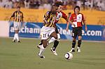 Al-Ittihad (KSA) vs Busan I'Park (KOR) during the 2005 AFC Champions League Semi-finals 2nd Leg match on 12 October 2005 at Prince Abdullah Al Faisal Stadium, Jeddah, Saudi Arabia.