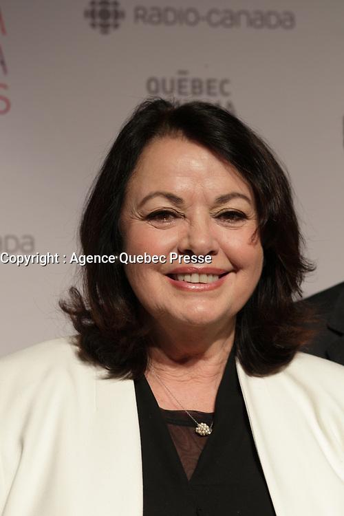 Louise Portalau  Gala du cinema Quebecois, le 20 mars 2016<br /> <br /> Photo : Pierre Roussel - Agence Quebec Presse