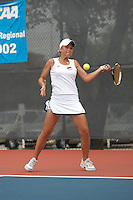 SAN ANTONIO, TX - APIL 23, 2007: The University of Texas at Arlington Mavericks vs. the Southeastern Louisiana University Lions at the Southland Conference Women's Tennis Championships at the UTSA Tennis Center. (Photo by Jeff Huehn)