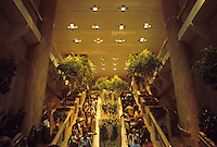 Chicago: Water Tower Place--Escalator, Entrance. Photo '88.