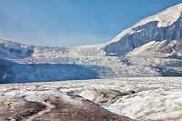 Out on Athabasca Glacier in Jasper National Park