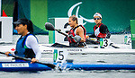 Brianna Hennessy, Tokyo 2020 - Para Canoe // Para canoë.<br /> Brianna Hennessy competes in the KL1 heats at the Sea Forest Waterway // Brianna Hennessy participe aux manches KL1 sur la voie navigable Sea Forest. 09/09/2021.