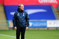 Steve Cooper Head Coach of Swansea City during the Sky Bet Championship match between Swansea City and Luton Town at the Liberty Stadium in Swansea, Wales, UK. Saturday 27 June 2020.