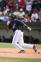 March 20th 2008:  Josh Barfield of the Cleveland Indians during a Spring Training game at Chain of Lakes Park in Winter Haven, FL.  Photo by:  Mike Janes/Four Seam Images
