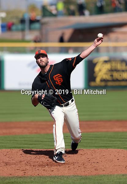 Drew Pomeranz - San Francisco Giants 2019 spring training (Bill Mitchell)