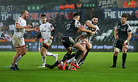 Saturday 15th February 2020 | Ospreys vs Ulster Rugby<br /> <br /> Stuart McCloskey in action during the PRO14 Round 11 clash between the Ospreys and Ulster Rugby at the Liberty Stadium, Swansea, Wales. Photo by John Dickson/DICKSONDIGITAL