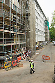 Improvement works on Lisson Green Estate, which is managed by CityWest Homes, an Arms Length Management Organisation (ALMO) on behalf of Westminster City Council