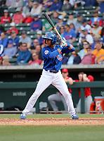 Aramis Ademan - Chicago Cubs 2019 spring training (Bill Mitchell)