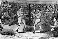 Boxing, 1860 Artist Unknown
