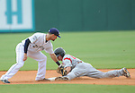 The New Orleans Zephyrs (AAA club Miami Marlins) battle the Albuquerque Isotopes (AAA club LA Dodgers) in a baseball game at Zephyr Stadium. The Isotopes defeated the Zephyrs, 7-4.