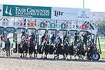 NEW ORLEANS, LA - FEBRUARY 25:And They're off.  Mineshaft Handicap race on Risen Star Stakes Day at Fair Grounds Race Course on February 25, 2017 in New Orleans, Louisiana. (Photo by Jarrod Monaret/Eclipse Sportswire/Getty Images)