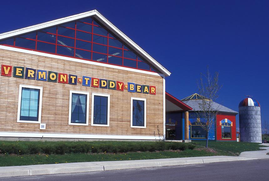 Vermont, Shelburne, VT, The Vermont Teddy Bear Company in Shelburne.
