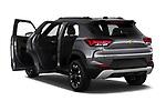 Rear three quarter door view of a 2021 Chevrolet Trailblazer LT 5 Door SUV
