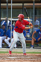 Philadelphia Phillies Kyle Martin (35) during an instructional league game against the Toronto Blue Jays on September 28, 2015 at Englebert Complex in Dunedin, Florida.  (Mike Janes/Four Seam Images)