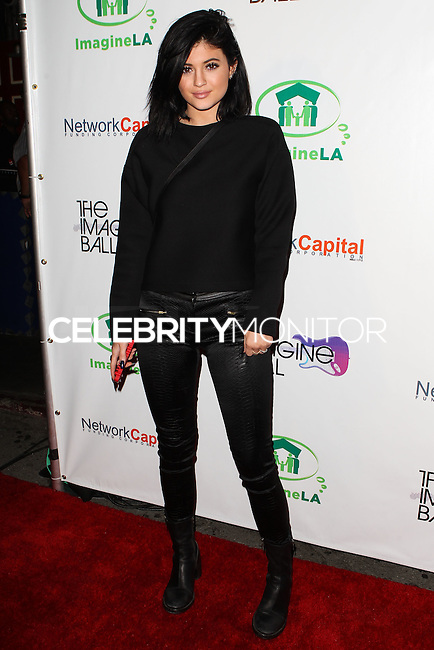 WEST HOLLYWOOD, CA, USA - AUGUST 06: Kylie Jenner at The Imagine Ball Presented By John Terzian & Randall Kaplan Benefiting Imagine LA held at the House of Blues Sunset Strip on August 6, 2014 in West Hollywood, California, United States. (Photo by Celebrity Monitor)