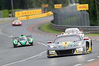 #64 Corvette Racing Chevrolet Corvette C8.R LMGTE Pro, Tommy Milner, Nicholas Tandy, Alexander Sims, 24 Hours of Le Mans , Race, Circuit des 24 Heures, Le Mans, Pays da Loire, France