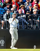 180719 | The 148th Open - Day 1<br /> <br /> Bubba Watson of USA on the 13th during the 148th Open Championship at Royal Portrush Golf Club, County Antrim, Northern Ireland. Photo by John Dickson - DICKSONDIGITAL