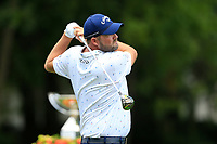 4th September 2020, Atlanta GA, USA;  Marc Leishman tees off  during the first round of the TOUR Championship  at the East Lake Golf Club in Atlanta, GA.