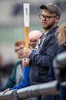 West Michigan Whitecaps fan on May 21, 2019 at Fifth Third Ballpark in Grand Rapids, Michigan. The Whitecaps defeated the Hot Rods 4-3.  (Andrew Woolley/Four Seam Images)