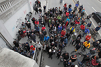 Tribute  on May 5, 2014 to Mathilde Blais, a cyclist killed by a truck in Montreal.<br /> <br /> <br /> Photo :  Agence Quebec Presse - Pierre Roussel
