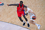Turkish Airlines Euroleague.<br /> Final Four - Vitoria-Gasteiz 2019.<br /> Semifinals.<br /> CSKA Moscow vs Real Madrid: 95-90.<br /> Othello Hunter vs Fabien Causeur.