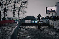 Toon Aerts (BEL/Telenet Fidea Lions) finishes 2nd<br /> <br /> Elite Men's race<br /> UCI CX World Cup Namur / Belgium 2017