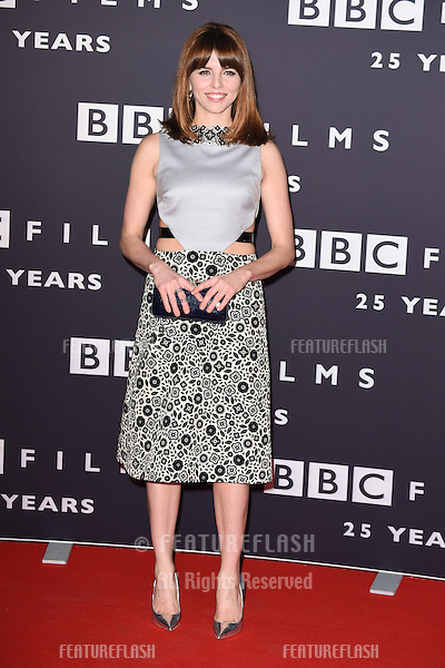 Ophelia Lovibond arrives for the BBC Films' 25th Anniversary Reception at Radio Theatre, New Broadcasting House, London. 27/03/2015 Picture by: Steve Vas / Featureflash