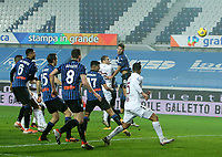 Bergamo  06-02-2021<br /> Stadio Atleti d'Italia<br /> Serie A  Tim 2020/21<br /> Atalanta- Torino nella foto:     Bonazzoli goal                                                     <br /> Antonio Saia Kines Milano