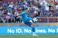 Stanford, CA - Saturday June 30, 2018: David Bingham prior to a Major League Soccer (MLS) match between the San Jose Earthquakes and the LA Galaxy at Stanford Stadium.
