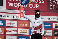 Lucinda Brand (NED/Baloise Trek Lions) wins the 20/21 World Cup Championship<br /> <br /> 2021 UCI CX World Cup Overijse (BEL)<br /> Vlaamse Druivencross<br /> <br /> Women's Race<br /> <br /> ©kramon