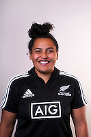 Te Kura Ngata-Aerengamate. New Zealand Black Ferns headshots at The Rugby Institute, Palmerston North, New Zealand on Thursday, 28 May 2015. Photo: Dave Lintott / lintottphoto.co.nz
