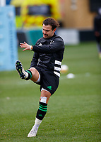 13th February 2021; Twickenham Stoop, London, England; English Premiership Rugby, Harlequins versus Leicester Tigers; Danny Care of Harlequins warming up
