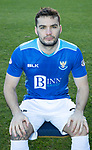 St Johnstone FC Photocall….2018/19 Season<br />Tony Watt<br />Picture by Graeme Hart.<br />Copyright Perthshire Picture Agency<br />Tel: 01738 623350  Mobile: 07990 594431