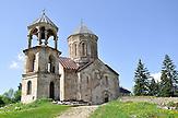 Nikorzminda-Kirche in der Bergregion Ratscha. / Monastery Nikorzminda in Ratscha area.