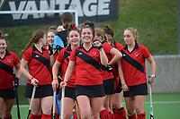 Canterbury 1 v Hawkes Bay. 2021 National Women's Under-18 Hockey Tournament day five at National Hockey Stadium in Wellington, New Zealand on Thursday, 15 July 2021. Photo: Dave Lintott / lintottphoto.co.nz https://bwmedia.photoshelter.com/gallery-collection/Under-18-Hockey-Nationals-2021/C0000T49v1kln8qk