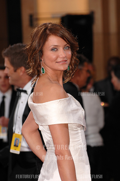 Cameron Diaz at the 79th Annual Academy Awards at the Kodak Theatre, Hollywood..February 25, 2007  Los Angeles, CA.Picture: Paul Smith / Featureflash