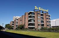 Nederland - Amsterdam -  2020.    Sloterdijk. Het hoofdkantoor van de Telegraaf aan de Basisweg.     Foto : ANP/ Hollandse Hoogte / Berlinda van Dam