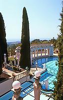 Hearst Castle: Neptune Pool. Photo '86.