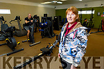 Noreen Gentleman in the gym in the Ballyheigue Community Centre on Tuesday.