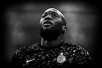Romelu Lukaku of FC Internazionale reacts prior to the Serie A football match between FC Internazionale and ACF Fiorentina at stadio San Siro in Milano (Italy), September 26th, 2020. Photo Andrea Staccioli / Insidefoto