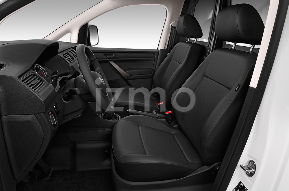 Front seat view of a 2019 Volkswagen Caddy Van Base 4 Door Car van front seat car photos