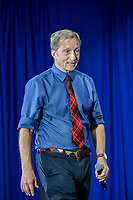 LAS VEGAS, NV - November 03: Presidential hopeful Tom Steyer hosts a Town Hall style meet and greet at The Urban Chamber of commerce in Las Vegas, Nevada on November 03, 2019. Credit: Damairs Carter/MediaPunch