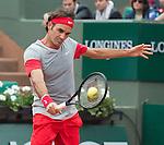 Roger Federer (SUI), defeats Diego Sebastian Schwartzman, 6-3, 6-4, 6-4