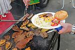 Barbecue, BBQ, Bar-B-Q, grillen, Grillfleisch, grillieren.