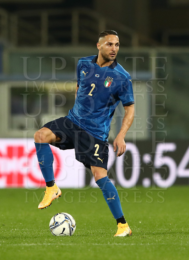 FBL- Friendly  football match Italy vs Estonia at the Artemio Franchi stadium in Florence on November 11, 2020.<br /> Italy's Danilo D'Ambrosio in ction during the Italian Serie A football match between Lazio and Juventus at Olympic stadium in Rome, on November 8, 2020.<br /> UPDATE IMAGES PRESS/Isabella Bonotto