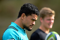 Vaea Fifita. Hurricanes rugby union training at Rugby League Park in Wellington, New Zealand on Wednesday, 19 April 2017. Photo: Dave Lintott / lintottphoto.co.nz