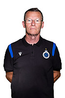 20th August 2020, Brugge, Belgium;  Dirk Laleman pictured during the team photo shoot of Club Brugge NXT prior the Proximus league football season 2020 - 2021 at the Belfius Base camp