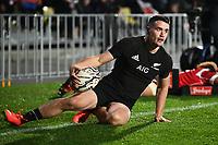 3rd July 2021, Auckland, New Zealand;  Will Jordan. New Zealand All Blacks versus Tonga, Steinlager Series, international rugby union test match. Mt Smart Stadium, Auckland. New Zealand.